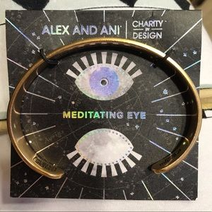 Alex and Ani Jewelry - NWT Alex and Ani Meditating Eye Cuff